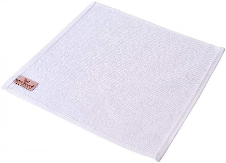 6x Seiftuch BASIC 30x30 cm weiß Premium Hotelqualität 100% Baumwolle saugstark & strapazierfähig