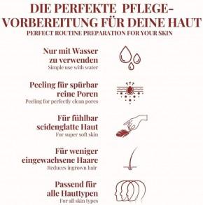 "KÖRPER Peeling Handschuh CLASSIC Ökotest ""GUT""  ultimatives Peeling für samtweiche & strahlend schöne Haut"