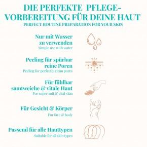 PEELOSOPHIE Peelinghandschuh für Körper & Gesicht nach alter orientalischer Tradition