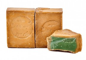 2x Aleppo Seife 5% Lorbeeröl 95% Olivenöl nährend & rückfettend Naturseife für Körper, Gesicht, Haare, 2x200g
