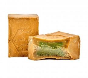 2x Aleppo Seife 55% Lorbeeröl 45% Olivenöl nährend & rückfettend Naturseife für Körper, Gesicht, Haare, 2x200g
