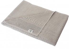 2x Duschtuch WAFFEL 70x140 cm taupe grau Premium Hotelqualität 100% Baumwolle saugstark & strapazierfähig