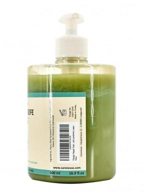 Aleppo Flüssigseife mit praktischem Spender, 75% Olivenöl 25% Lorbeeröl, 1x500ml
