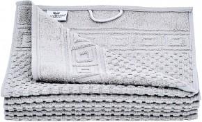 6x Gästehandtuch WAFFEL 30x50 cm taupe grau Premium Hotelqualität 100% Baumwolle saugstark & strapazierfähig