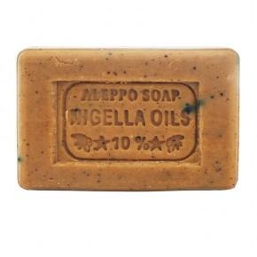 2x Aleppo Schwarzkümmelöl Seife, 65% Olivenöl, 25% Lorbeeröl und 10% Schwarzkümmelöl, 2x130g